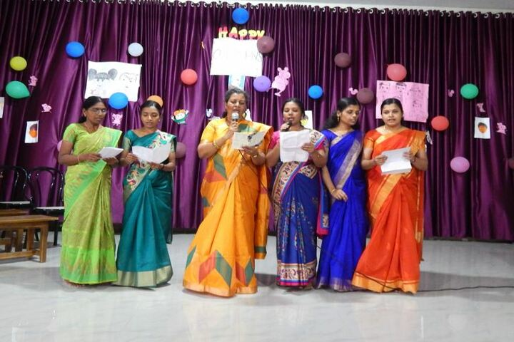 St Anns English Medium School-Childrens Day