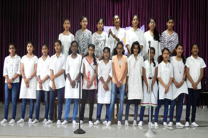 St Anns English Medium School-Singing Activity