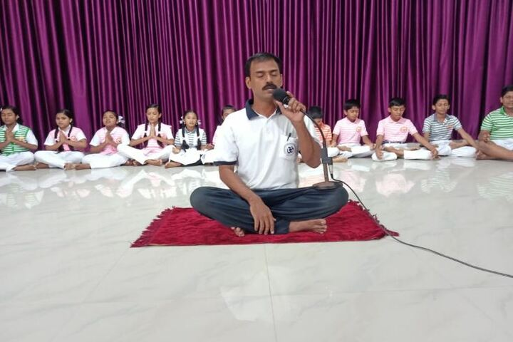 St Anns English Medium School-Yoga