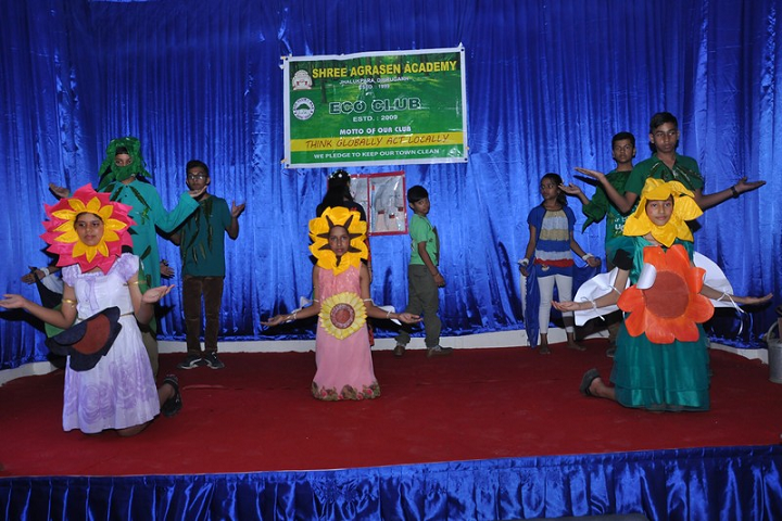 Shree Agrasen Academy-Eco Club