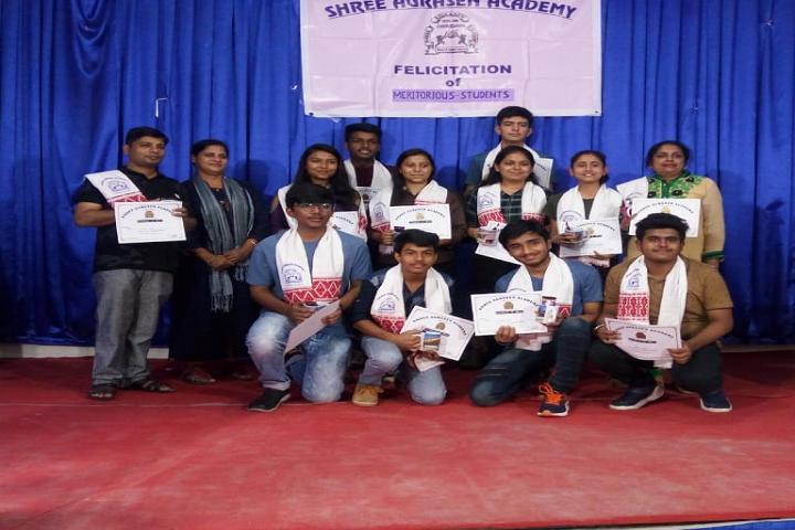 Shree Agrasen Academy-Felicitation