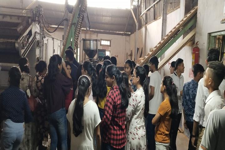 Shree Agrasen Academy-Industrial Trip
