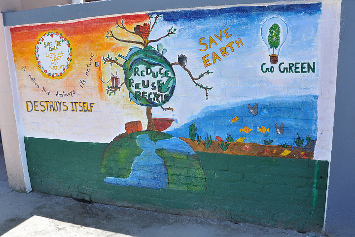 Shree Agrasen Academy-Wall Painting