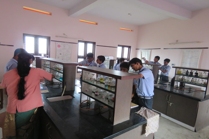 St Julianas Public School-Chemistry Lab