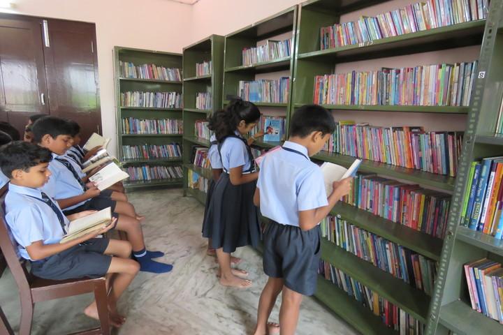 St Julianas Public School-Library