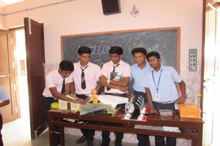 St Julianas Public School-Science Club