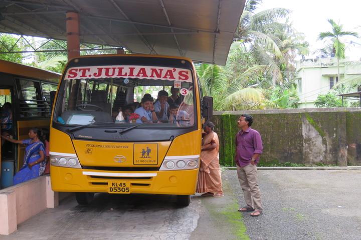 St Julianas Public School-Transport