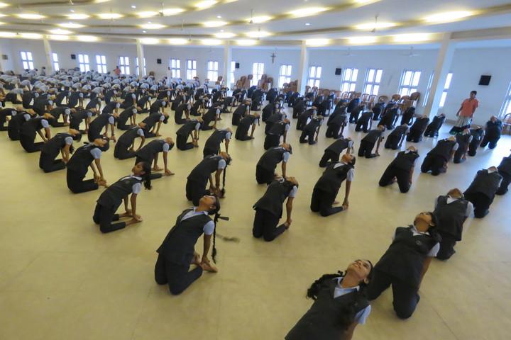 St Julianas Public School-Yoga