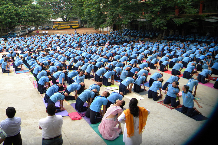 Shrimanta Shankar Academy- Yoga Day