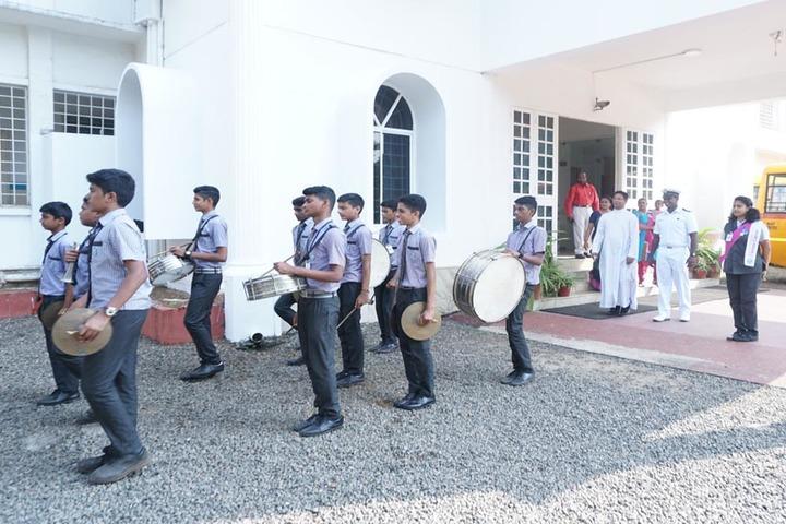 St Paul s International School-Band Troop