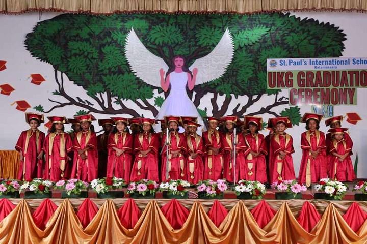 St Paul s International School-Graduation Day