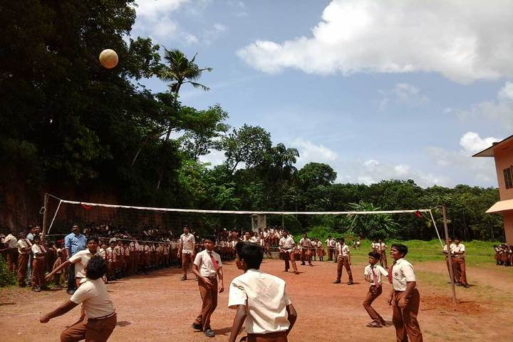 St Stephens Public School-Volly Ball Court