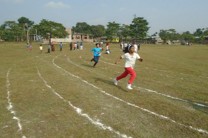 South Point English School-Race