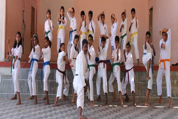 St Thomas Residential Central School-Karate