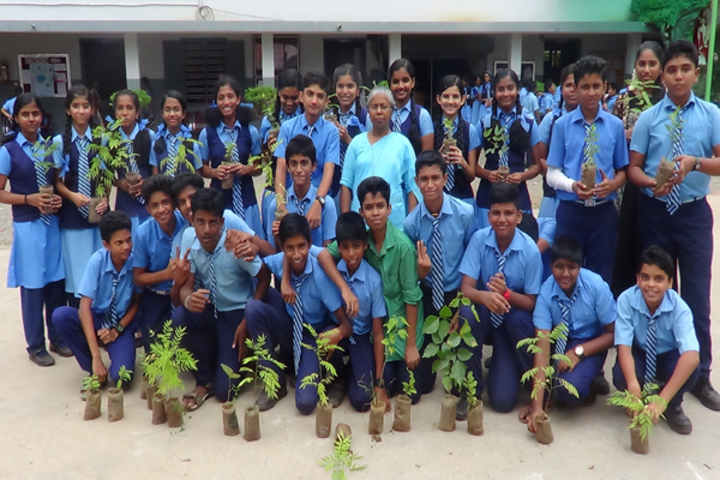 St Alloysius School-Environment Day