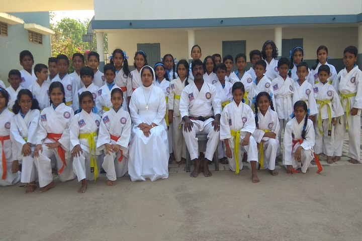 St Alloysius School-Karate