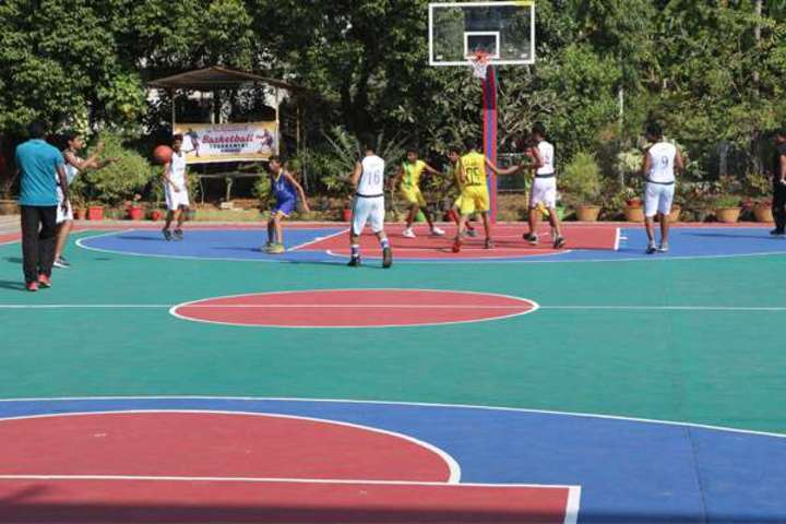 """St Antonys Public School-Basket Ball Court"""