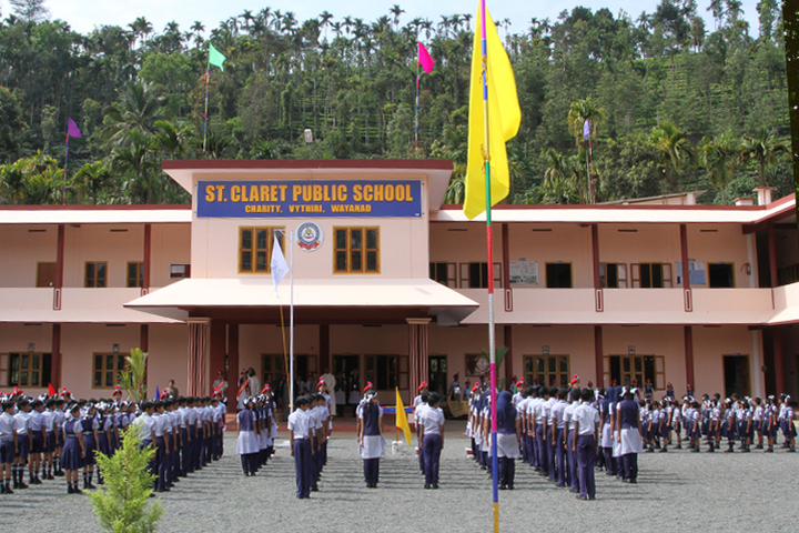 St Claret Public School-Assembly