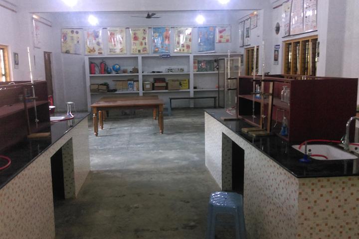 St Claret Public School-Chemistry  Lab