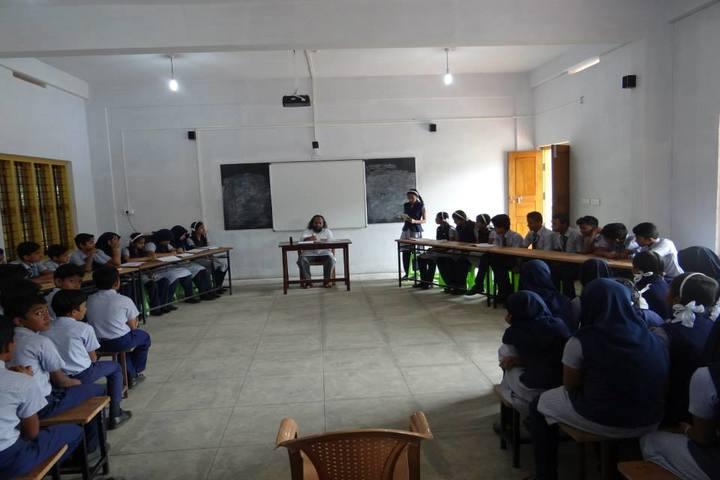 St Claret Public School-Debate