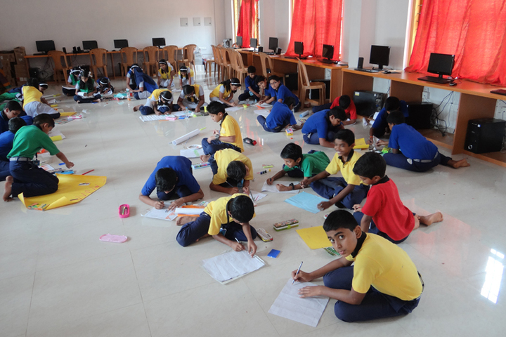 St Claret Public School-Drawing Competition