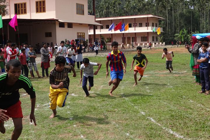St Claret Public School-Sports