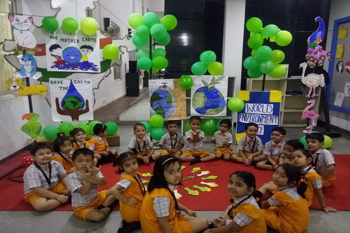 Spring Dale International School-Environment Day