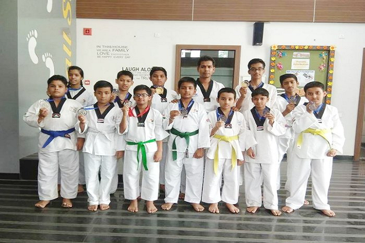 Spring Dale International School-Karate