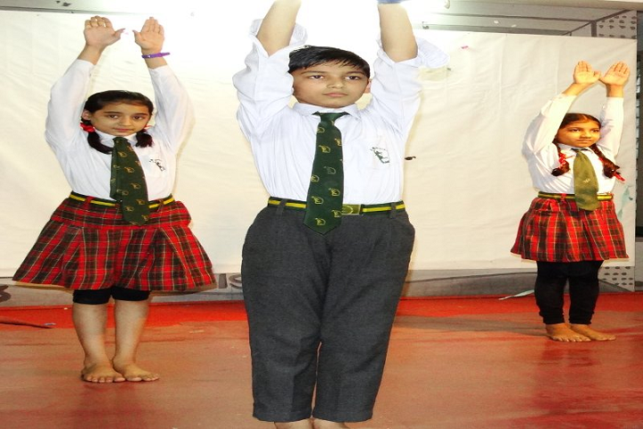 Spring Dale International School-Yoga