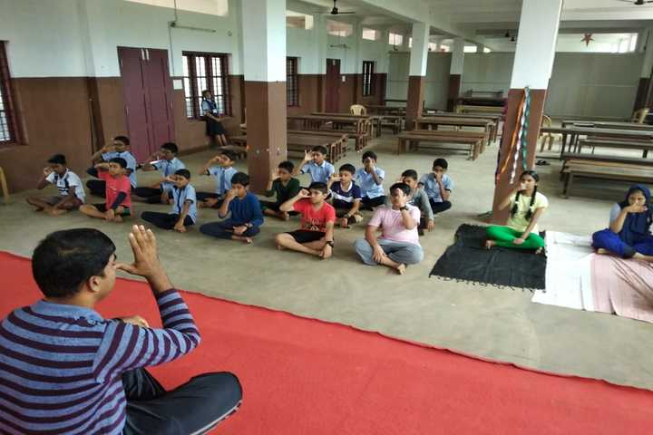 St James English Medium Convent School-Yoga