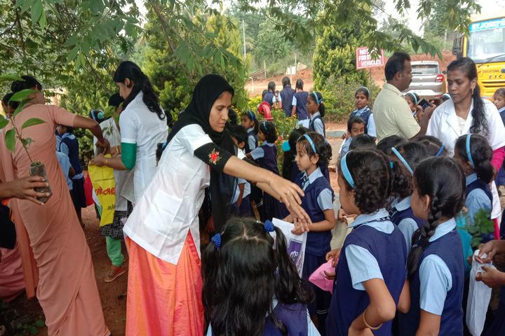 St JosephS School-Environment Day
