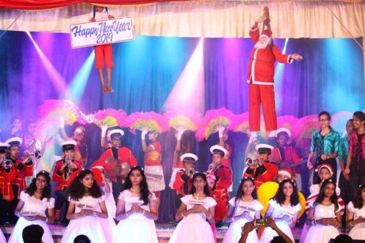 St Kuriakose Public School-Christmas Celebrations