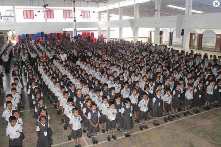 St Kuriakose Public School-Students