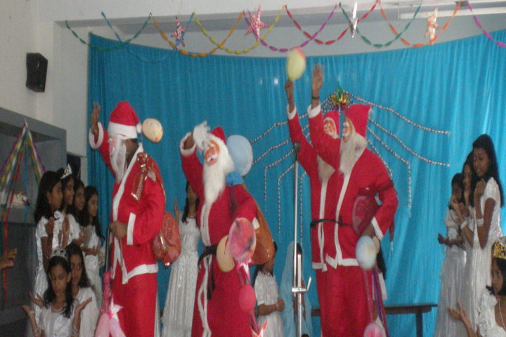 St Mary Of Leuca English Medium School-Christamas Celebrations