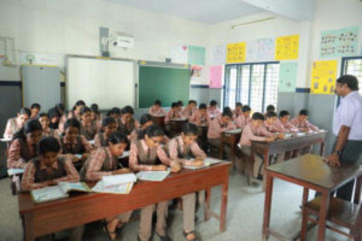 St Mary Of Leuca English Medium School-Classroom