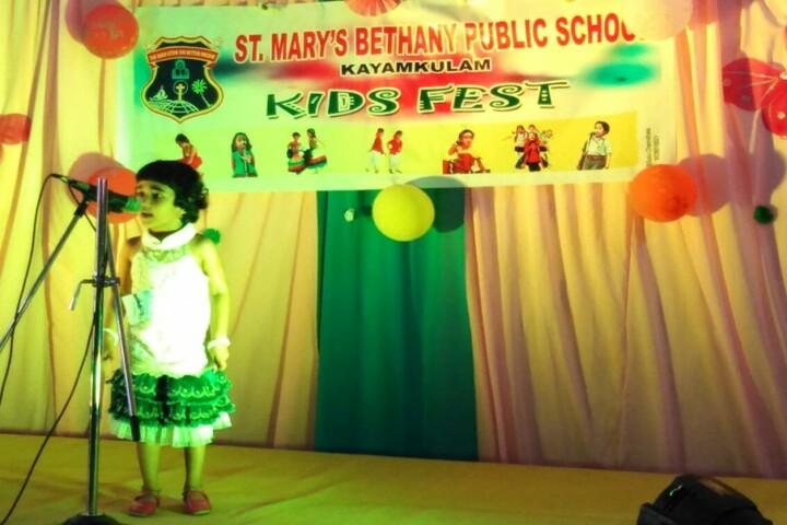 St Mary S Bethany Public School-Kids Fest