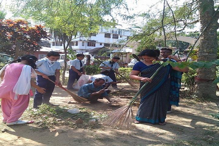 Sri Sathya Sai Vidya Vihar- Cleanliness Drive