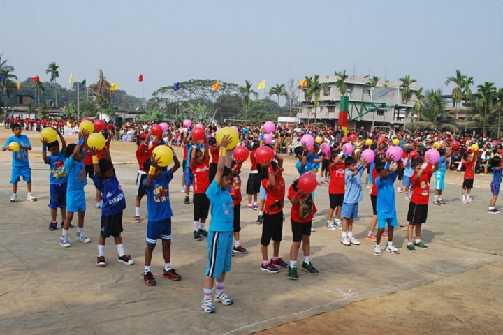 St Clare S Convent High School- Sports Day