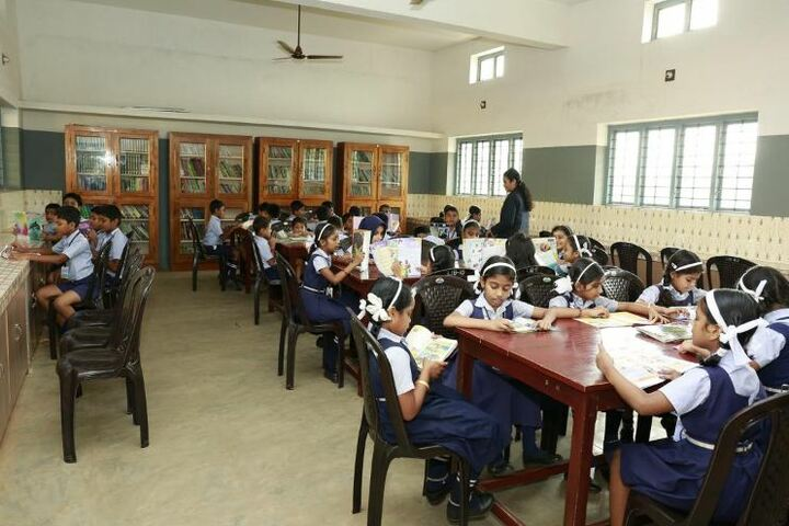 St Dominic Convent English Medium School-Library