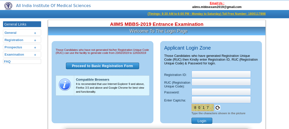AIIMS Application Form 2020 (MBBS): How to apply, fee, dates