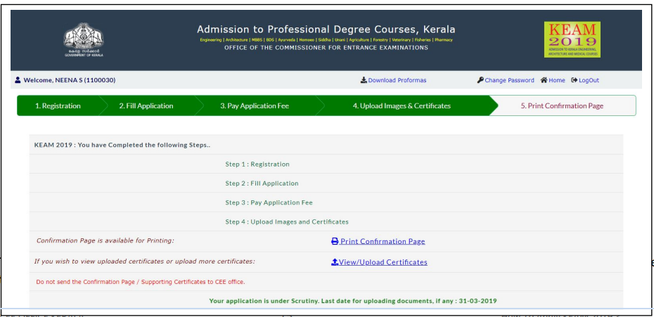 Application Form Mbbs Degree Certificate Muhs Nashik, The Kerala Mbbs 2019 Application Form Now Affix A Recent Passport Size Photograph On It And Get It Attested By Either A Gazetted Officer Or The Head, Application Form Mbbs Degree Certificate Muhs Nashik