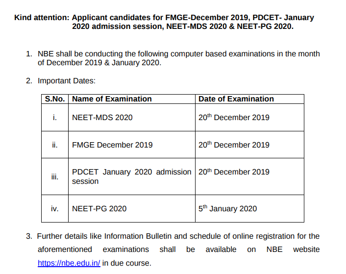 NBE-announced-exam-dates