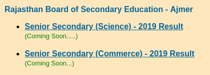 RBSE-12th-result-commerce-science-link
