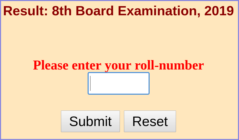 Rajasthan Board 8th Result 2020 | RBSE 8th Result - Check here
